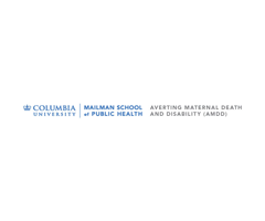 Columbia University/Averting Maternal Death and Disability (AMDD)